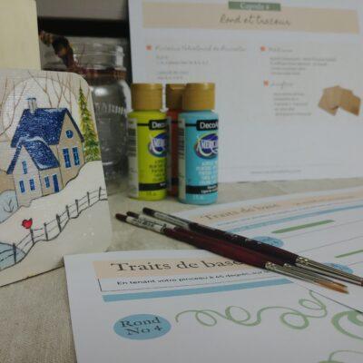 Capsule 4 – Les pinceaux rond et le traceur