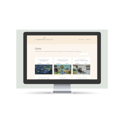 Marche à suivre pour naviguer sur l'école en ligne